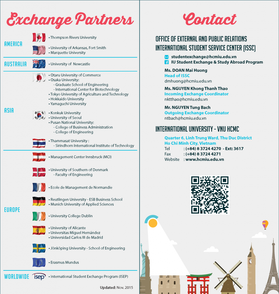 Outgoing Exchange 1 - Leaflet (2000)