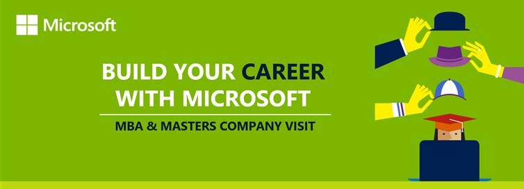 Microsoft Company Visit