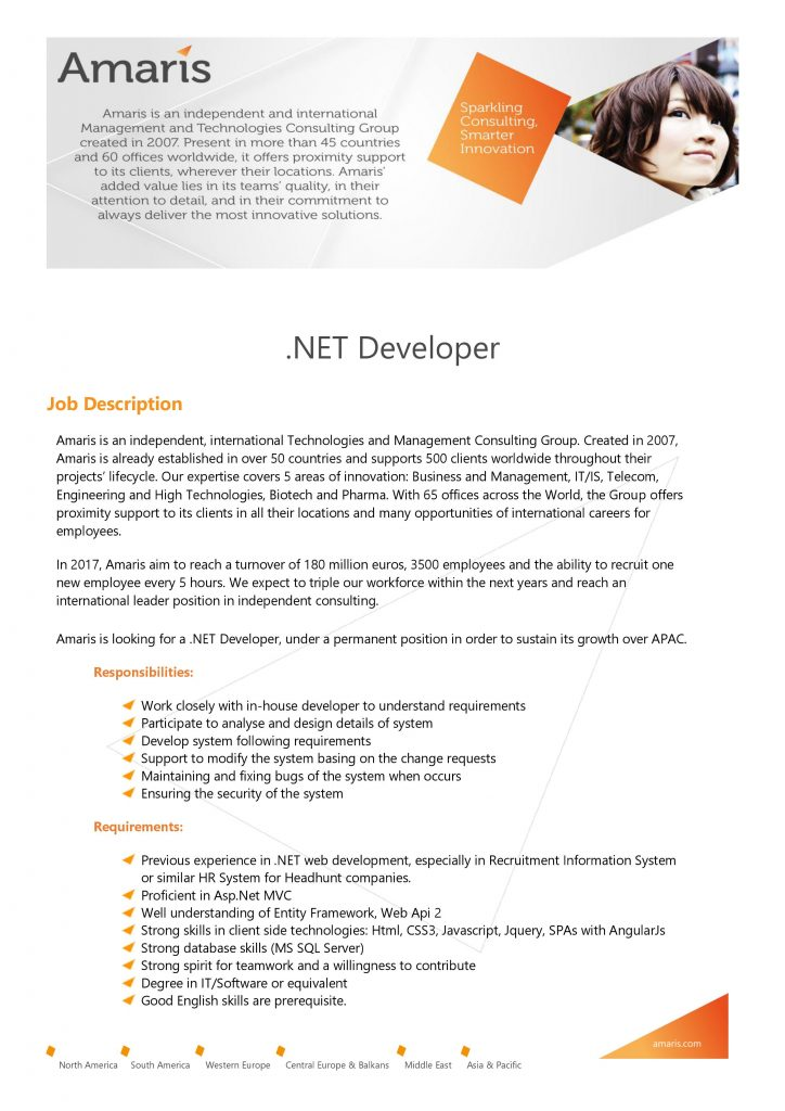 [Amaris] .NET Developer 1