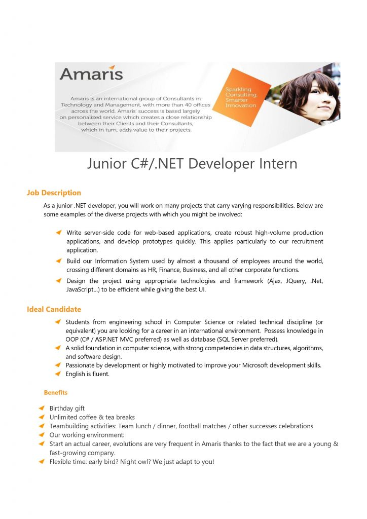 [Amaris].Net Developer Intern 1