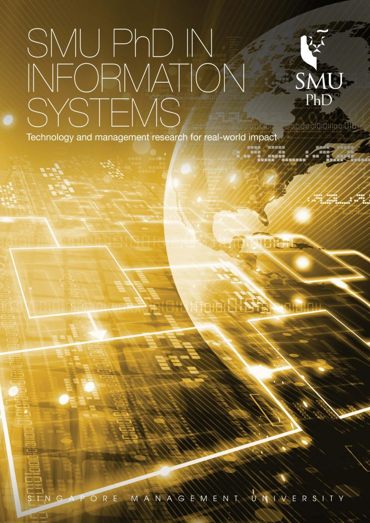 SMU PhD in Information Systems