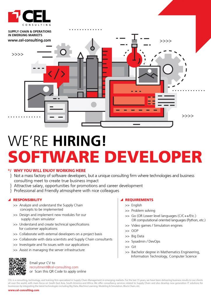 CEL We are hiring-Software Developer 1