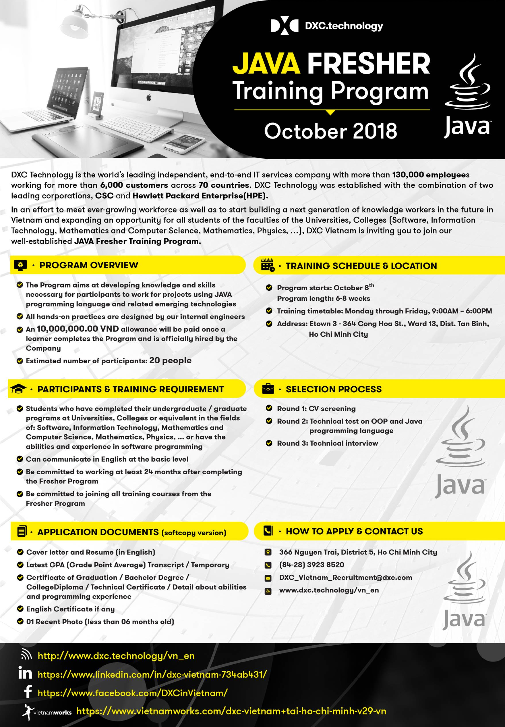 JAVA Fresher Program